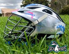 Tropics Lacrosse Helmet Wraps