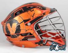 Velocity Lacrosse Metallic Helmet Wraps