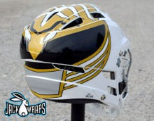 White Ranger Lacrosse Helmet